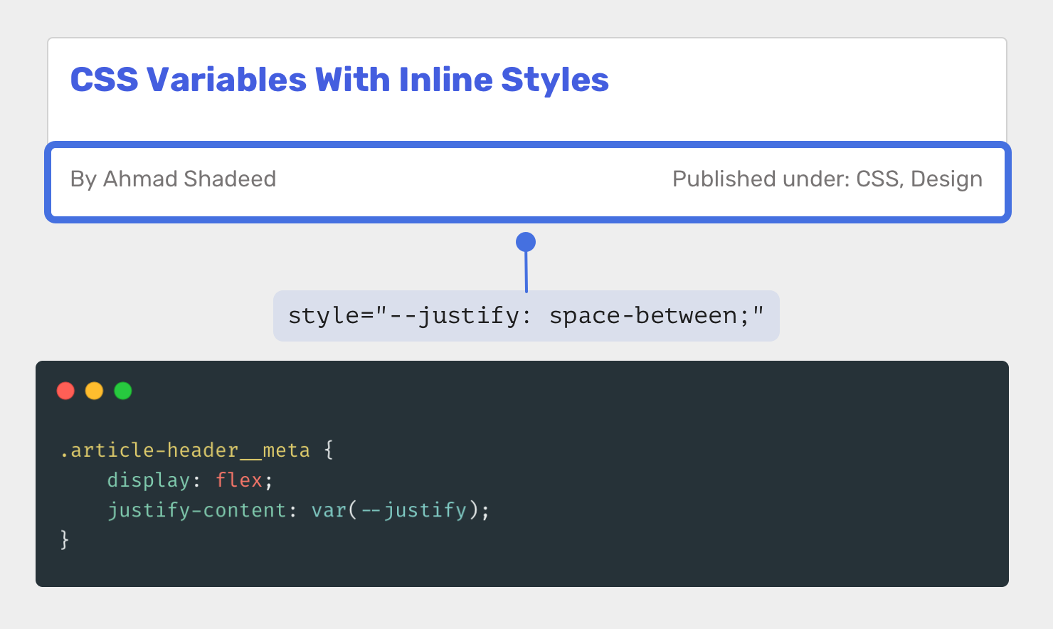CSS Variables With Inline Styles   Ahmad Shadeed