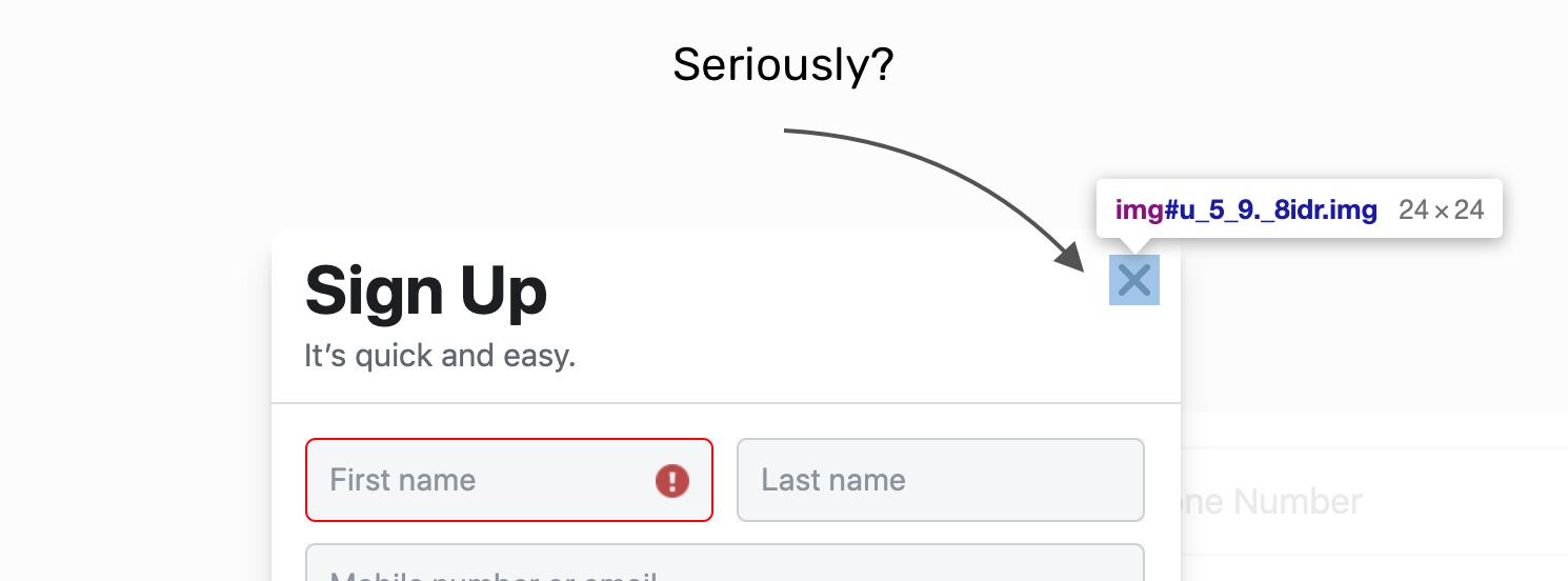 Login desktop ansicht facebook logo/fbfordevelopers