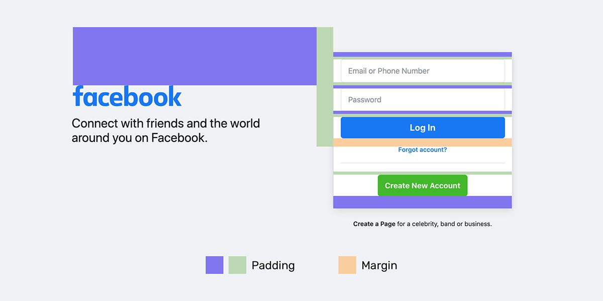 The New Facebook Login Design