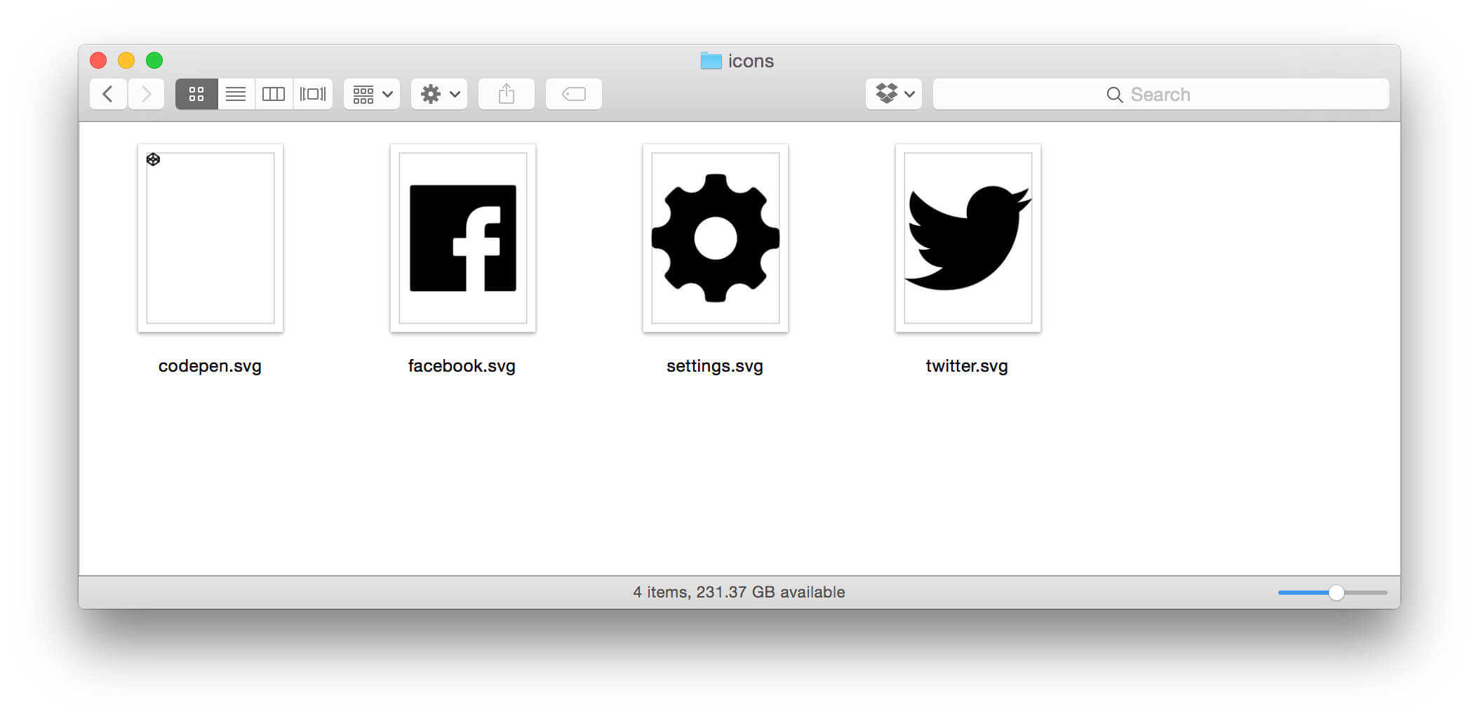 Using SVG for the Icongraphy #SVGFTW